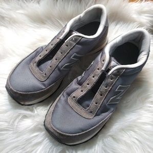 New balance womens gray sneakers sz 7.5